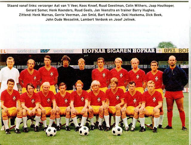 Equipos de fútbol: GO AHEAD EAGLES 1970-71