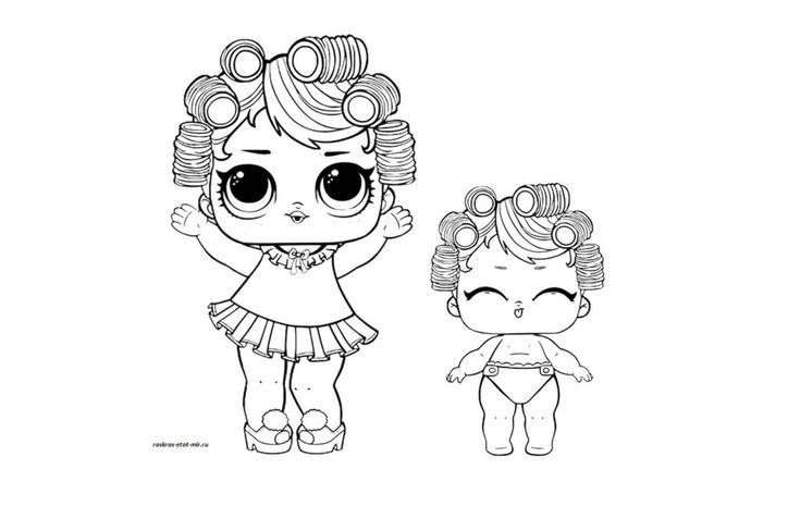 Картинки по запросу раскраски куклы лол распечатать