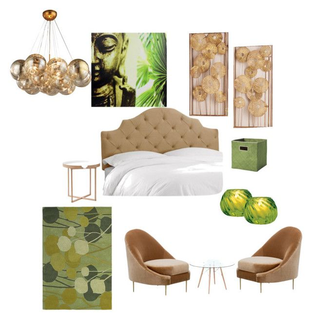 """bedroom"" by shivika-ahuja on Polyvore featuring interior, interiors, interior design, home, home decor, interior decorating, Serena & Lily, Home Decorators Collection, Cultural Intrigue and .wireworks"