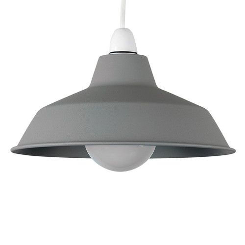 Found it at Wayfair.co.uk - 24cm Colby Concrete Bell Ceiling Pendant Shade