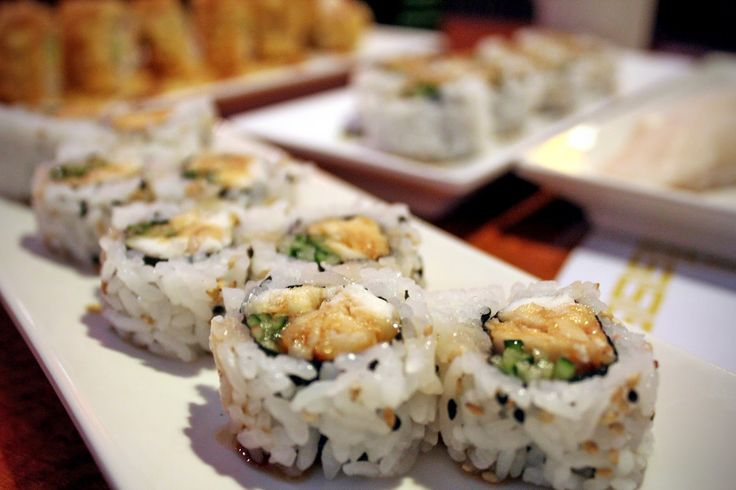 Check out sushi happy hour in LA.