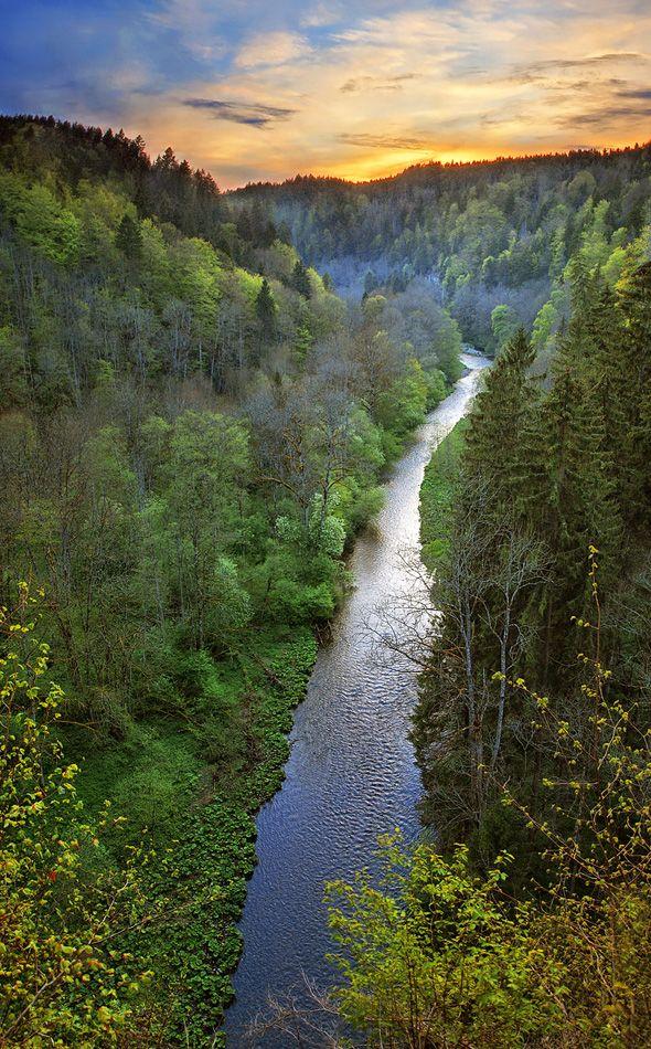 Wutach Gorge, Black Forest - Baden-Württemberg, Germany