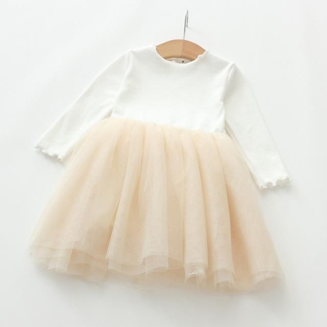 Little Ballerina Dress #kidoutfits