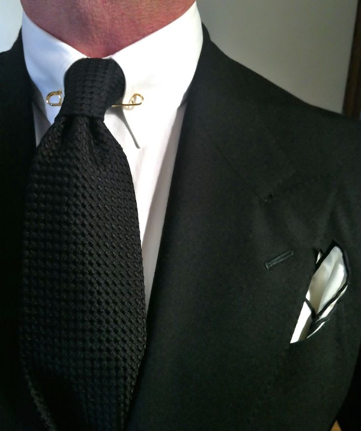 17 best images about collar bars and collar pins on for Tie bar collar shirt