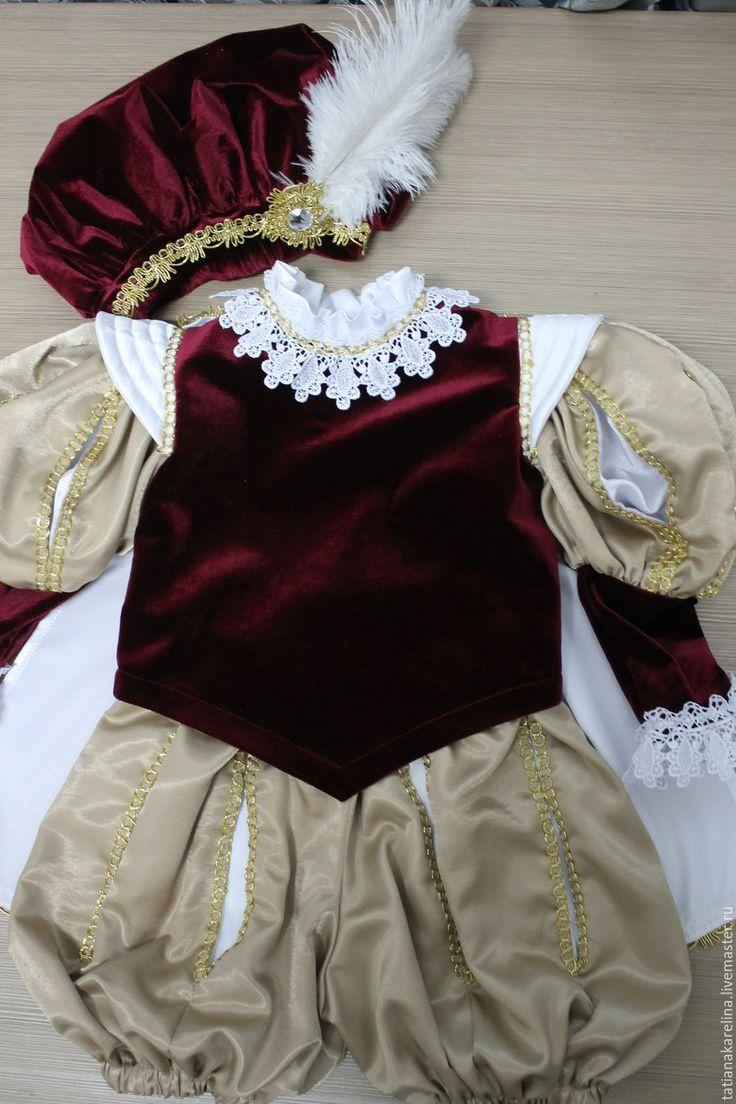 """Купить Новогодний костюм для мальчика """"Принц"""" в интернет магазине на Ярмарке Мастеров"""