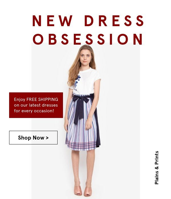 5e7c17a62c13 Enjoy Free Shipping on Zalora s New Dresses! Apply Voucher Code ...