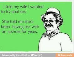 anal sex?