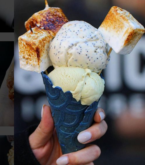 Ice and Vice, NY, NY ... #Spoon Tip: Starting April 1, 2016 show Ice and Vice you follow Spoon University on Instagram, and you'll get 20% off your ice cream — you're so welcome.