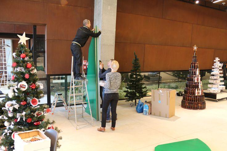 Czas zacząć ustawianie. #choinka #święta #wystawa #ecs #gdańsk