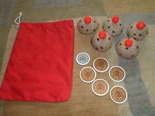 5 currant buns maths teaching resource Knitted food/EYFS/KS1/childminder/nursery