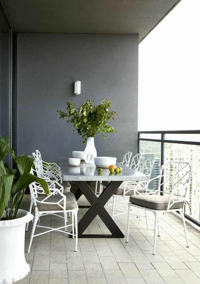 Die besten 25+ Sitzgruppe balkon Ideen auf Pinterest Garten - gemauerte sitzbank im garten