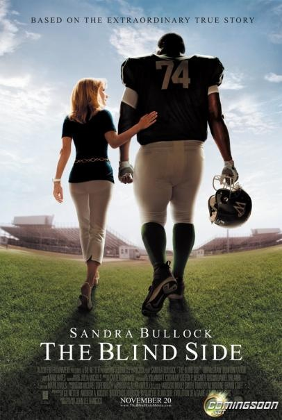 The blind side --- Great movie!! It touched my heart!