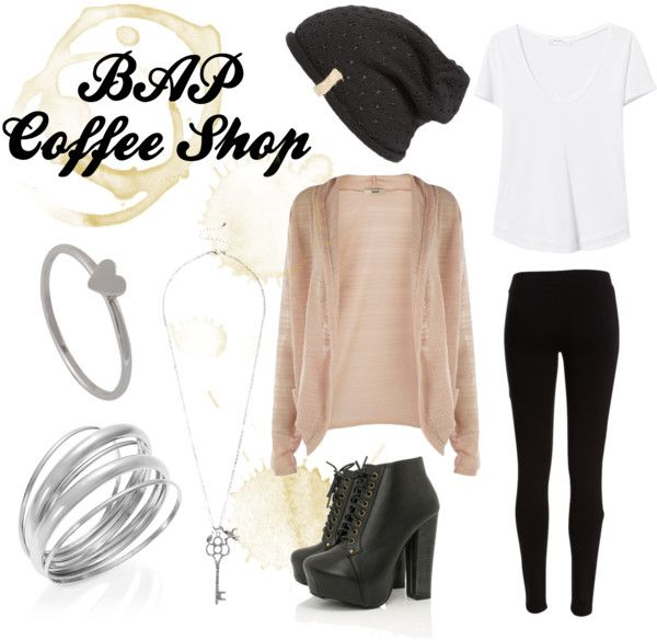 "Outfit inspired by: BAP's ""Coffee Shop"" MV."