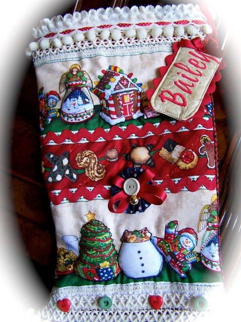 Handmade Stocking for Christmas by Created by Cath.= www.decorativehomecrafts.com , via Flickr