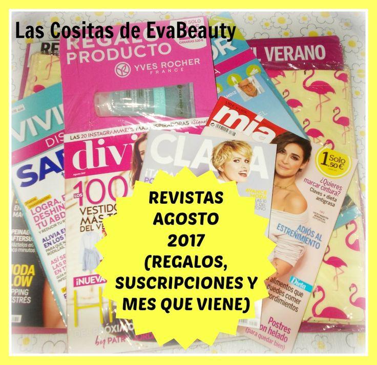 Hola bombones! Ya estan a la venta las revistas de este mes, y hoy toca post sobre ellas. Os espero en el blog con toda la información. #lascositasdeevabeauty #noticias #news #fashion #fashionnews #revistas #blog #blogger #beautyblog #beautyblogger #bloggerespaña #fashionblogger #belleza #beauty #moda #maquillaje #makeup