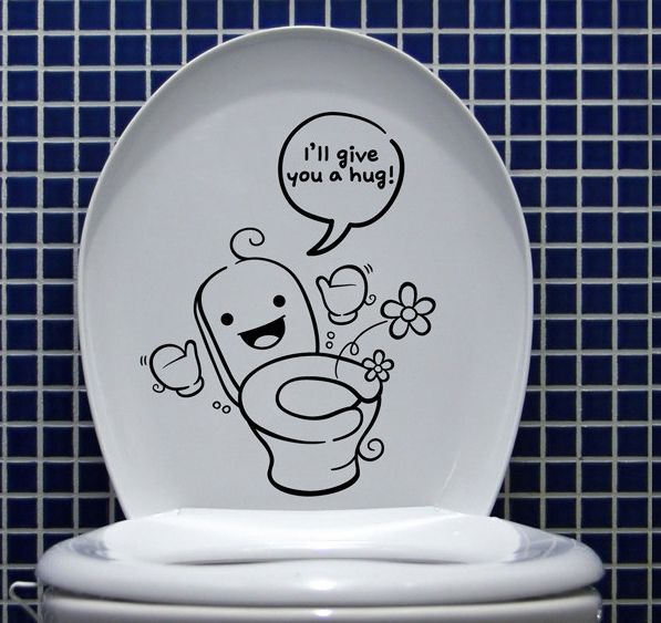korean ceramic tiles waterproof toilet stickers apartment wishlist pinterest toilet funny. Black Bedroom Furniture Sets. Home Design Ideas