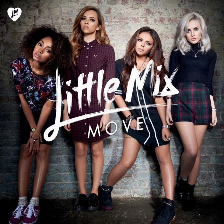 Great type treatment on this CD single cover art LITTLE MIX