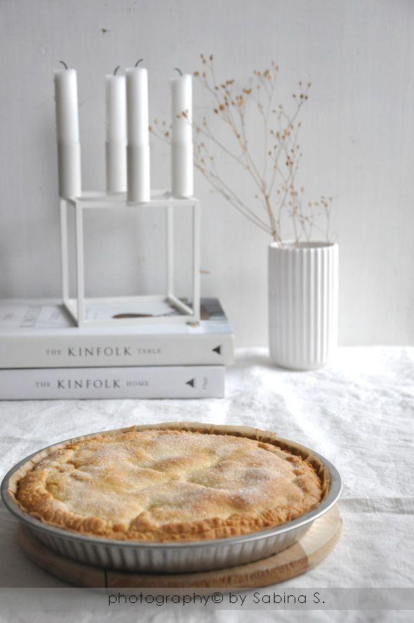 Due bionde in cucina: Crostata con cuore morbido alla mela