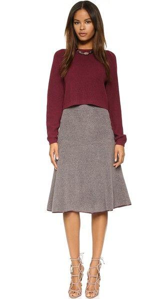 Clover Canyon FLEECE Skirt $94.00 (sale)