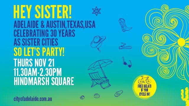Hey Sister! | Splash Adelaide - Thu Nov 21