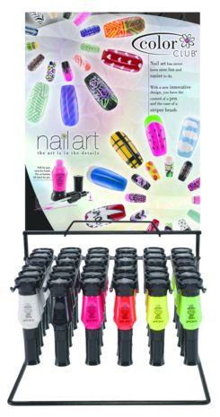 Art Club Nail Art Duo Pen/Striper Display - PT - 05NADNEON