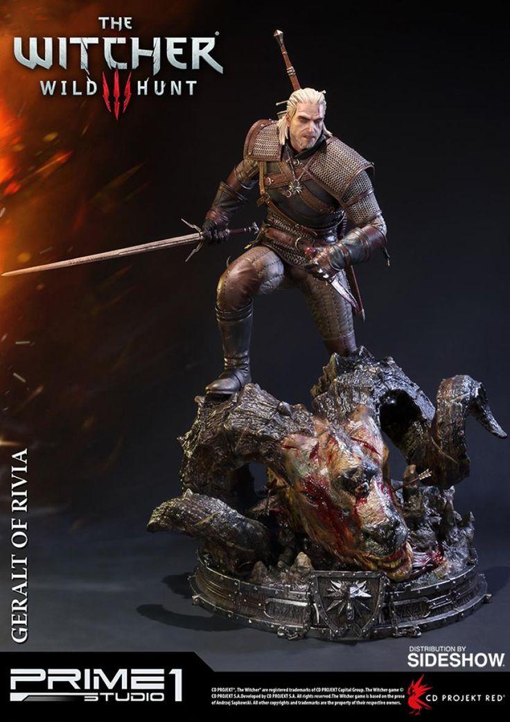 Mira esta épica figura de The Witcher: Wild Hunt - LevelUp