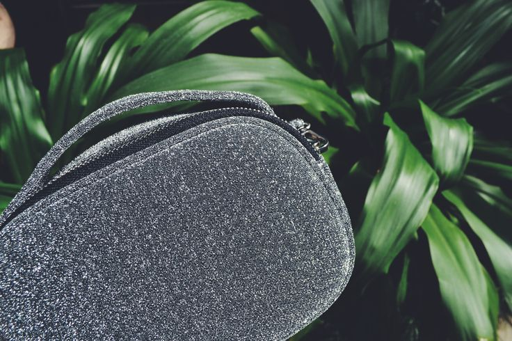 glitter bag in the wild