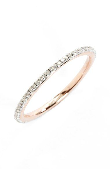 Monica Vinader Diamond Eternity Ring available at #Nordstrom