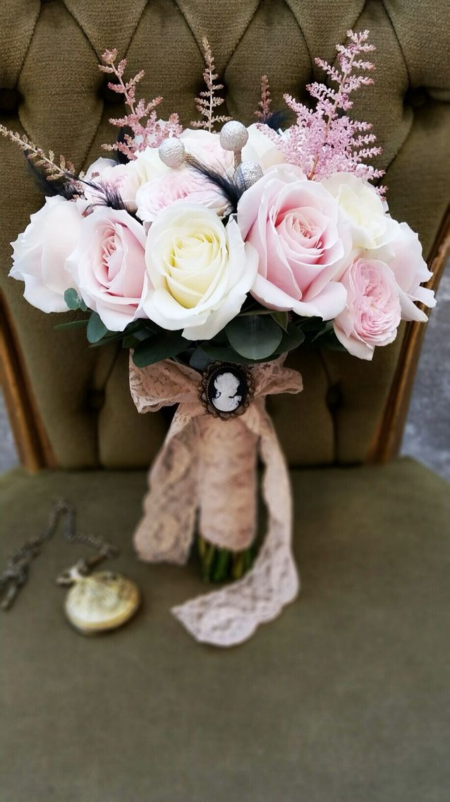 Vintage bridal bouquet.. The Great Gatsby Theme, by Danielle Design