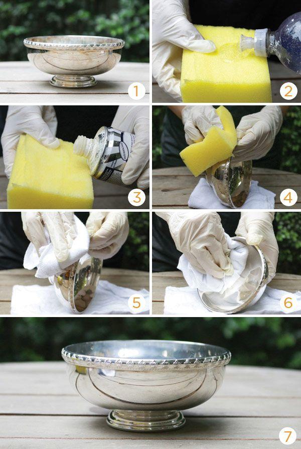 Como limpar a prataria