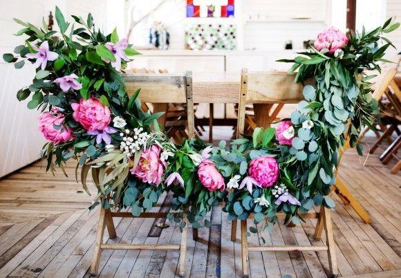 DIY Floral Wedding Garland | Free People Blog #freepeople