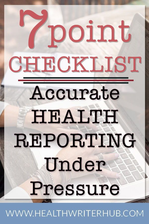 Reporting on health under pressure | Health News Reporting | Blog
