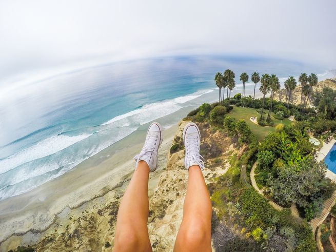 How do you capture such different types of shots? @theblondeabroad, Kiersten Rich, has some killer tips on how to take better travel shots. #GoProGirl #GoPro #GoProTravel