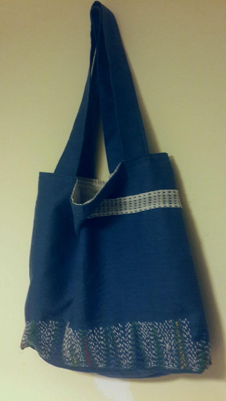 Bag. I've tried sashiko and boro.