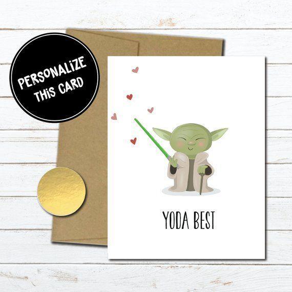 Best Friend Gift Yoda Best Gift for Him Star Wars Gift