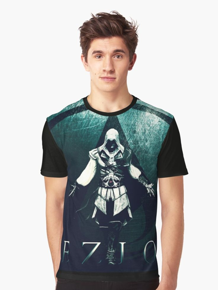 Ezio Auditore T-Shirt . #tshirt #gamer #gamertshirt #gamingtshirt #xmasgifts #39;s #christmasgifts #family #online #shopping #onlineshopping #redbubble #gifsforhim #giftsforhim #style #assassinscreedtshirt #ezioauditore #fashion #popular #art #design #gaming • Also buy this artwork on apparel, stickers, phone cases, and more.