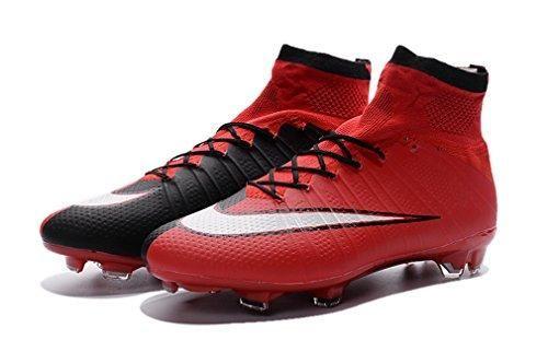 Oferta: 22.19€. Comprar Ofertas de Para hombre rojo Mercurialx Superfly IV FG con ACC high Top Zapatos de fútbol botas de fútbol, hombre, rojo, UK7.5/EUR41 barato. ¡Mira las ofertas!