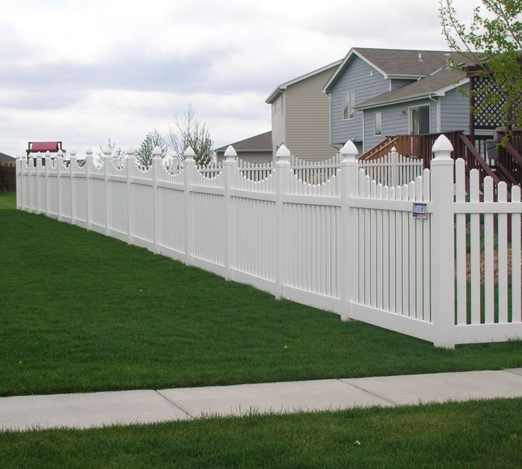 59 Best White Picket Fence Images On Pinterest Fencing