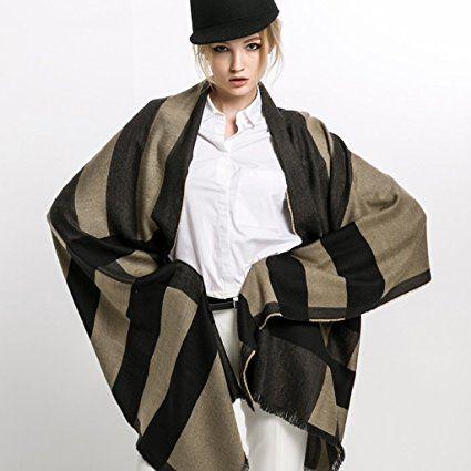 Sciarpa donna primavera e autunno sezione sottile scialle dual-uso lungo sezione British Style lattice Keep Warm Wild Winter bavaglino #2