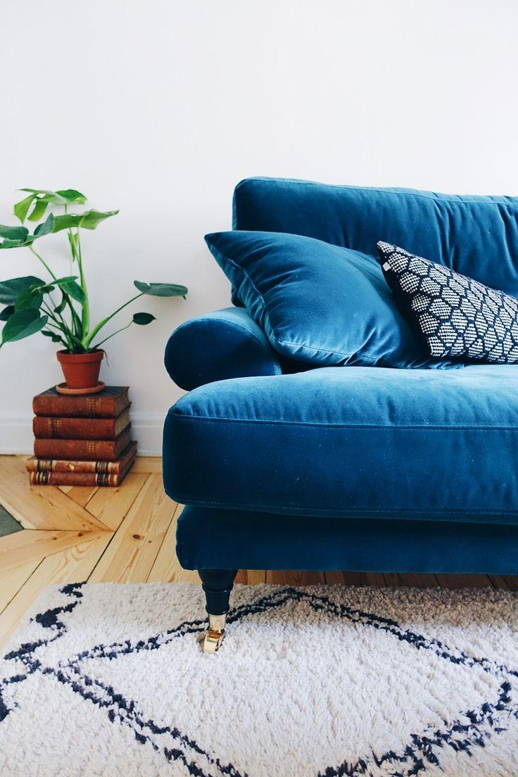 soffa i sammet the sofa store vanja wikström