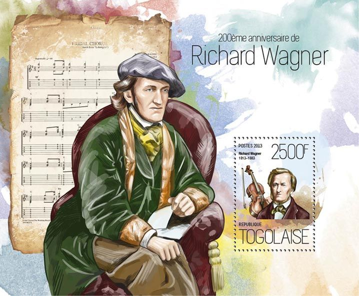 TG 13816 b – 200th anniversary of Richard Wagner