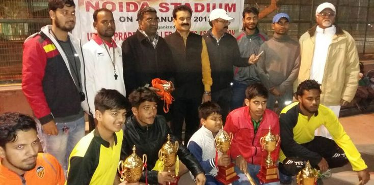 Roller skating hockey players beat teams from Ghaziabad and Gautam Budh Nagar in the event at Noida Stadium on January 4.