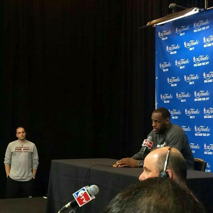 LeBron James press conference