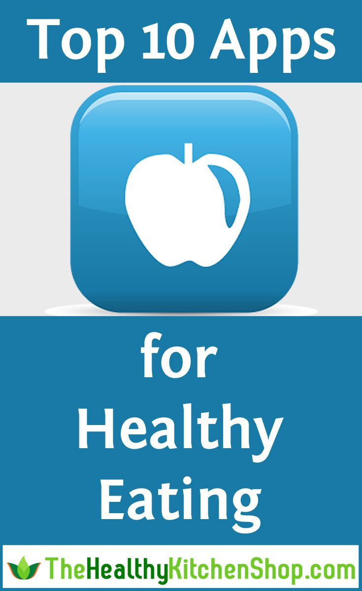 See the Top 10 Apps for Eating Healthy - get help with avoiding GMOs and additives, counting calories or carbs, and meeting all sorts of other nutritional goals and needs. #apps #healthyeating #eatinghealthy #cleaneating