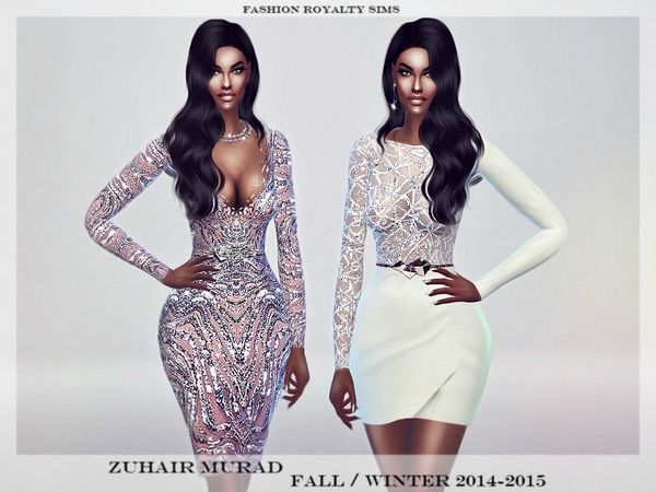 11d157e846af The Sims Resource  Zuhair Murad dresses by Fashion RoyaltySims • Sims 4  Downloads
