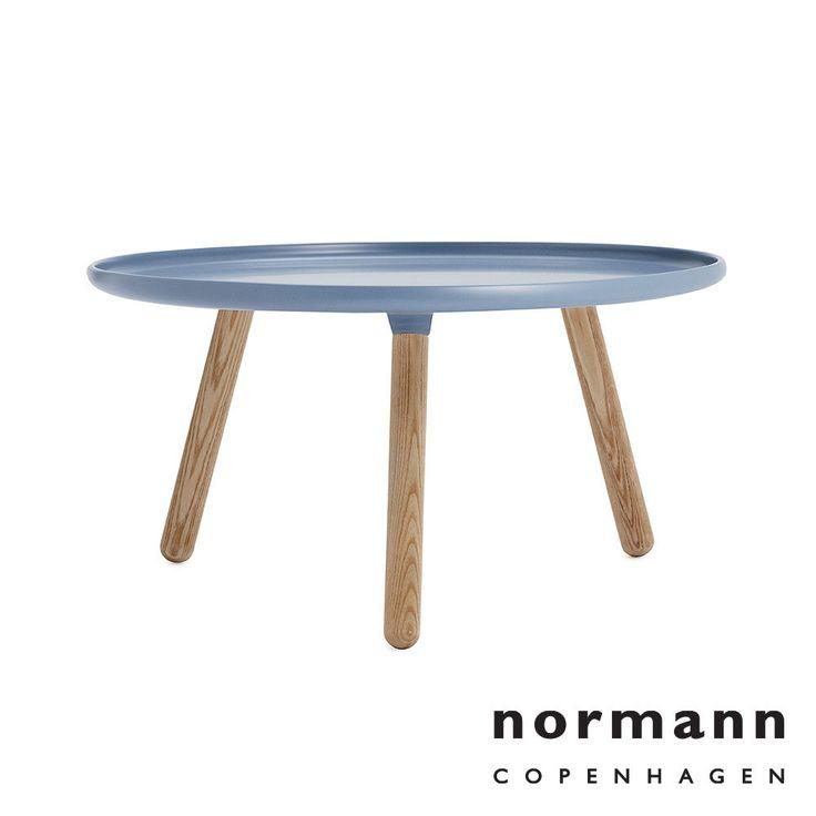 Normann Copenhagen Tablo Table Large Blue available at LoftModern.com