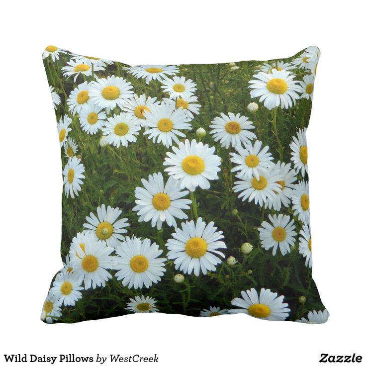 Wild Daisy Pillows