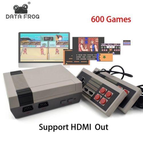 Mini TV Game Console Support HDMI 8 Bit Retro Video Game Console Built-In 600 No: $44.00 (0 Bids) End Date: Thursday Mar-8-2018 18:05:07…