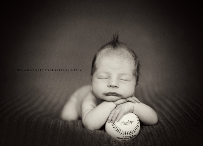 Newborn baseball... Could substitute for a football:)