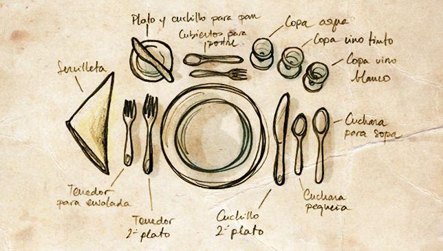 "Tips para poner una mesa espectacular. Add word ""el centro de la mesa"" to vocab list"